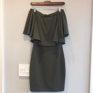 Off the shoulder strapless dress - Small